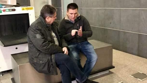 Зигмар Габриэль и Павел Климкин