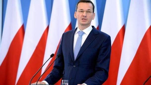 Моравецький розповів, що Польща прийняла понад мільйон українців