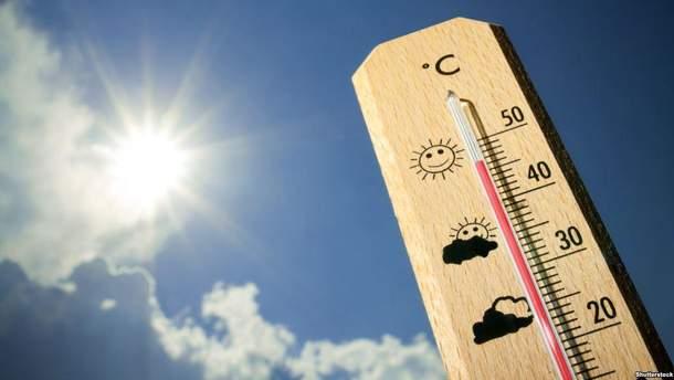 В Киеве зафиксировали рекордный показатель температуры воздуха