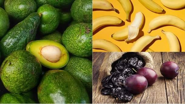 Калорійні фрукти