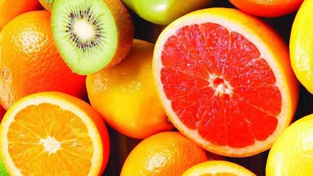 Сезонні продукти січня