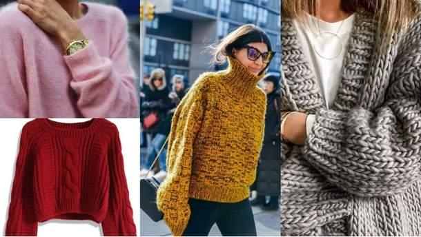 Теплый свитер обязательно должно быть в вашем шкафу
