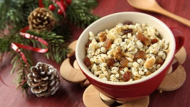 Рецепти куті на Різдво