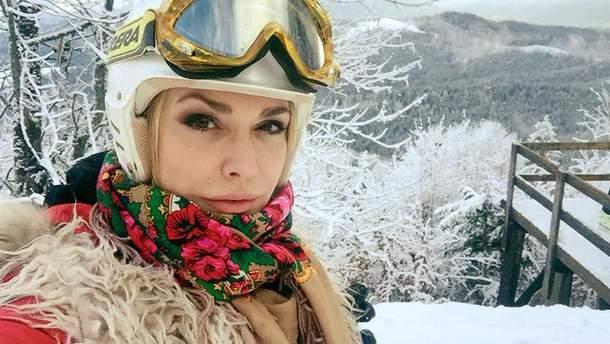 Ольга Сумская на отдыхе