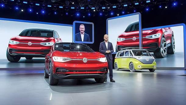 Нові моделі Volkswagen 2018