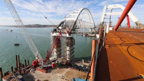 Крымский мост не запустят в 2018 году