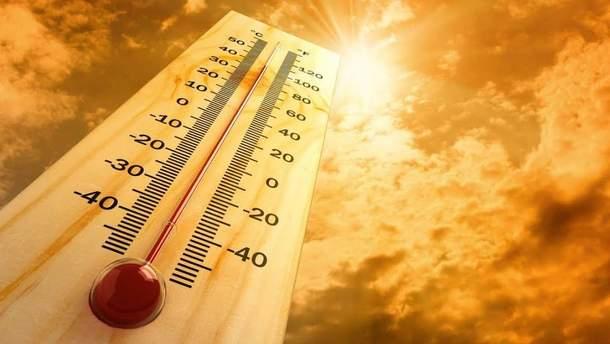Аномальне тепло в Україні