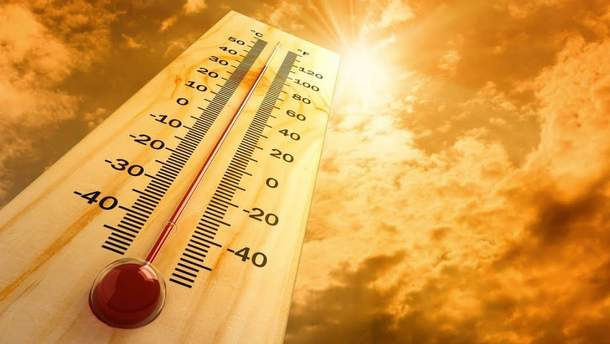 Аномальное тепло в Украине