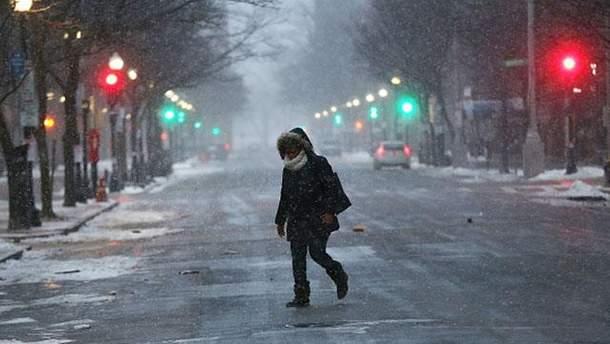 Прогноз погоды в Украине на 9 января