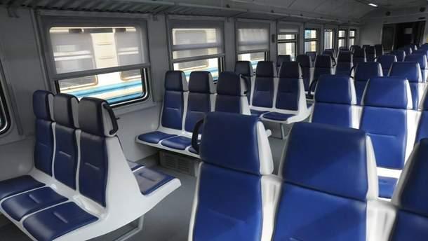 Вагон поезда Львов - Здолбунов