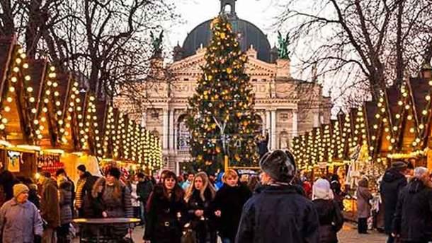 Прогноз погоди на різдвяні свята в Україні