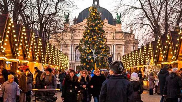 Прогноз погоды на рождественские праздники в Украине