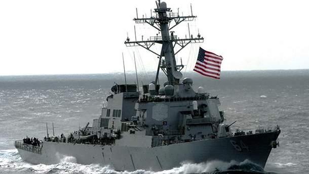 У Чорне море увійшов американський есмінець Carney