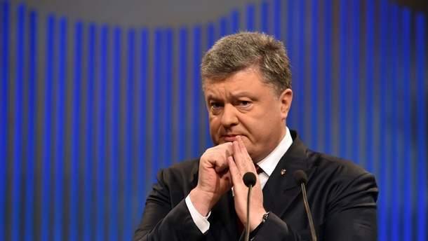 Порошенко получил миллион гривен