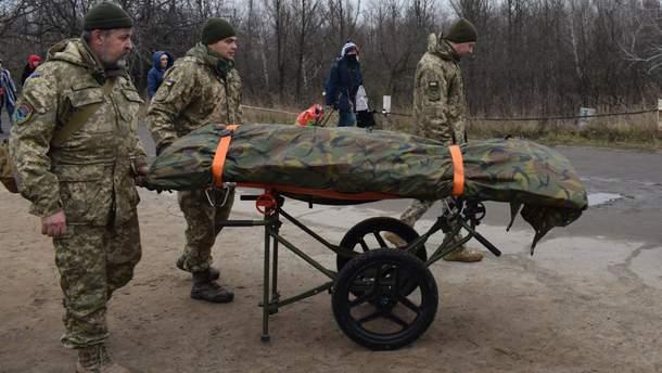 Україна передає тіла загиблих під Щастям на окуповану територію