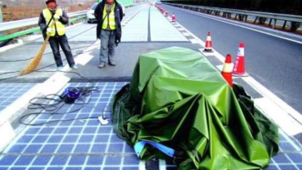 Энергогенерирующая дорога в Китае