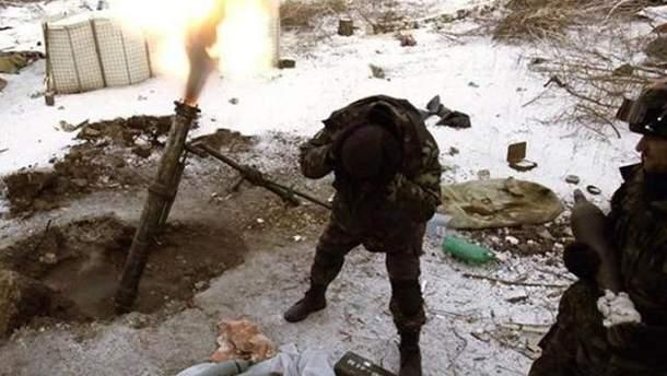 На рождество в зоне АТО боевики обстреляли бойцов АТО