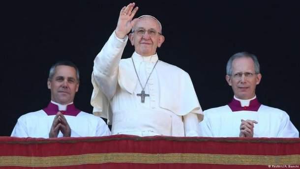 Папа Римський привітав з Різдвом християн східного обряду
