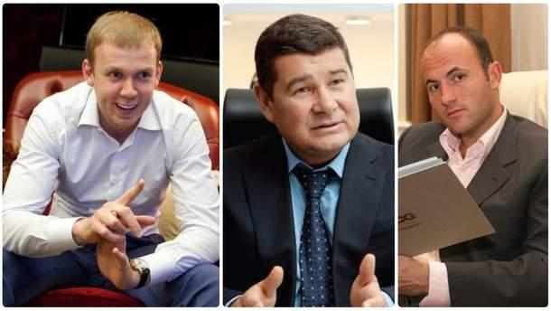 Сергій Курченко, Олександр Онищенко та Павло Фукс