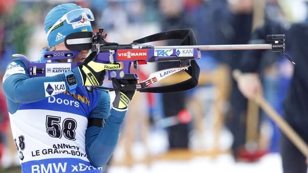 Вита Семеренко на огневом рубеже