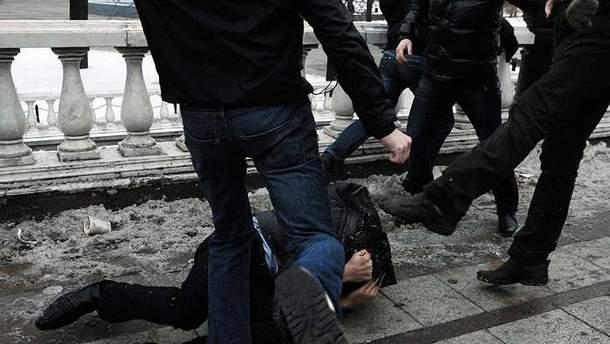 Масова бійка у Санкт-Петербурзі