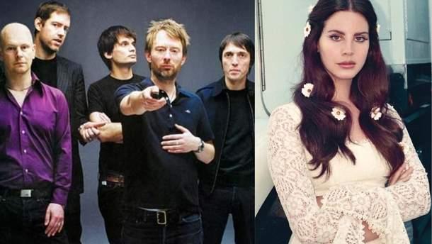 Гурт Radiohead звинуватив Лану Дель Рей у плагіаті
