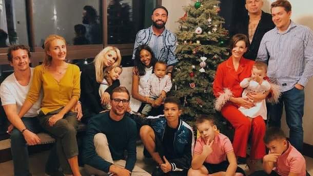 Где украинские звезды отпраздновали Рождество