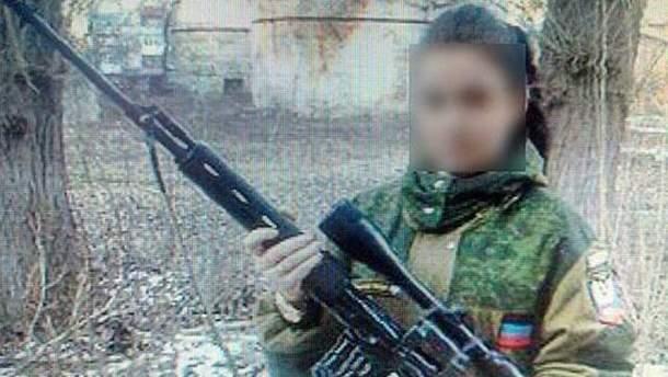 Сообщница боевиков из Славянска