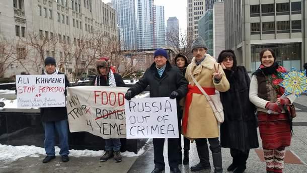 Флешмоб в Чикаго