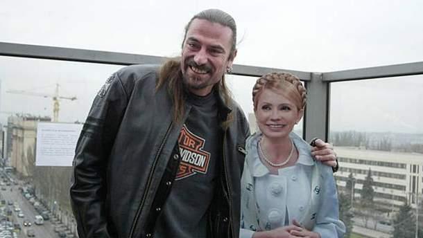 Шон Карр та Юлія Тимошенко
