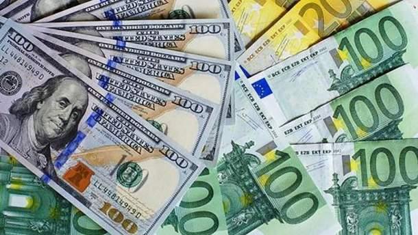 Наличный курс валют 9 января в Украине