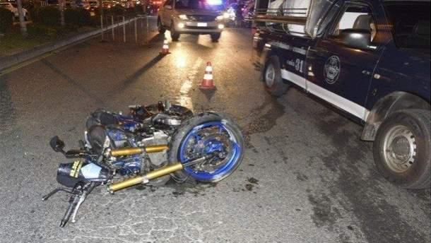 Россиянин разбился на мотоцикле в Таиланде