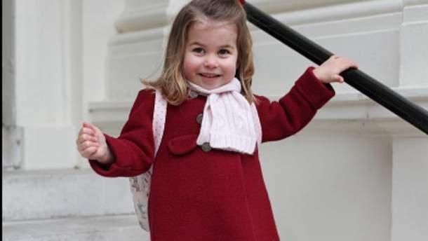 Принцеса Шарлотта пішла у дитсадок