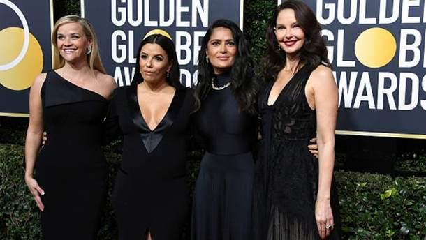 Золотой глобус 2018: почему все звезды появились в черном