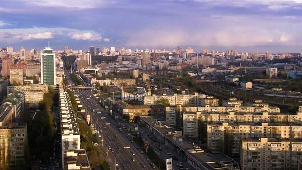 Проспект перемоги у Києві