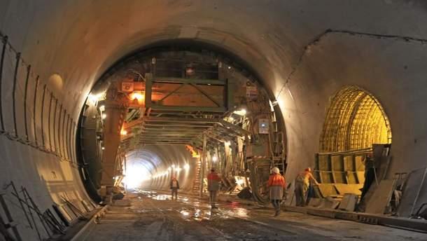 Бескидский тоннель откроют 25 мая