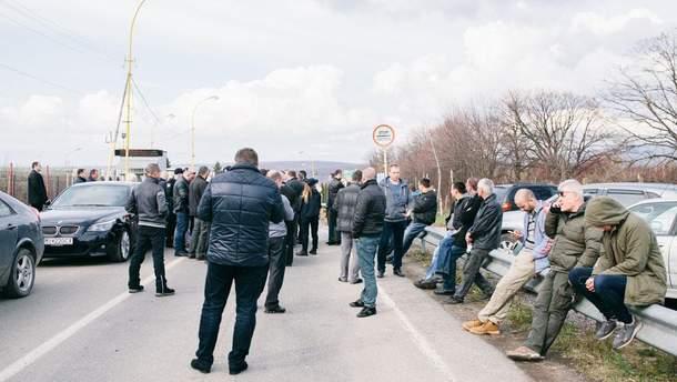 Активисты будут блокировать западные границы Украины