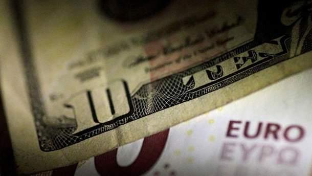 Наличный курс валют 10 января в Украине