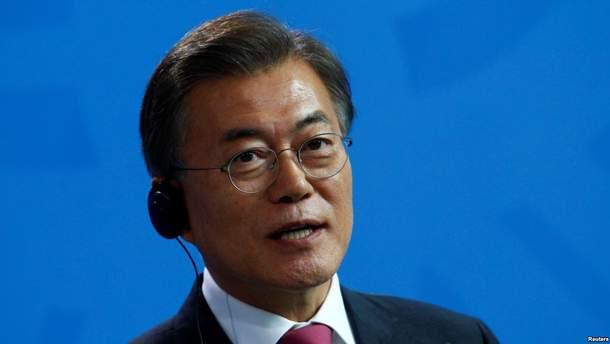 Мун Чжэ Ин готов к встрече с Ким Чен Ыном