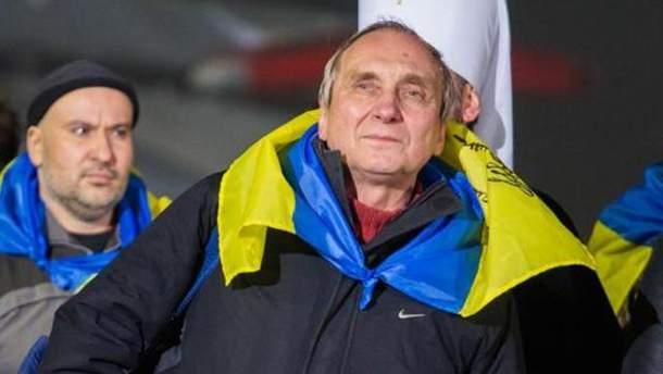 Освобожденный из плена боевиков Игорь Козловский