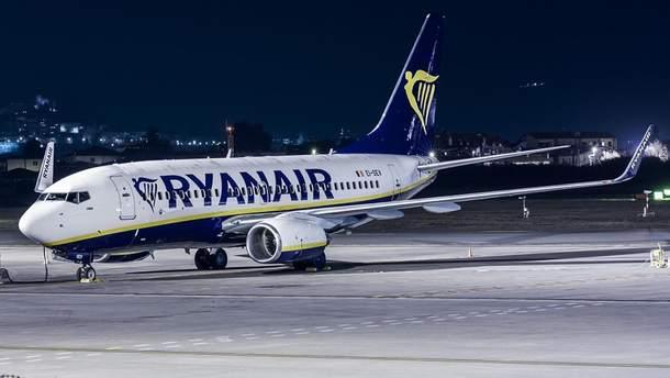Ryanair придет в Украину в январе-феврале 2018