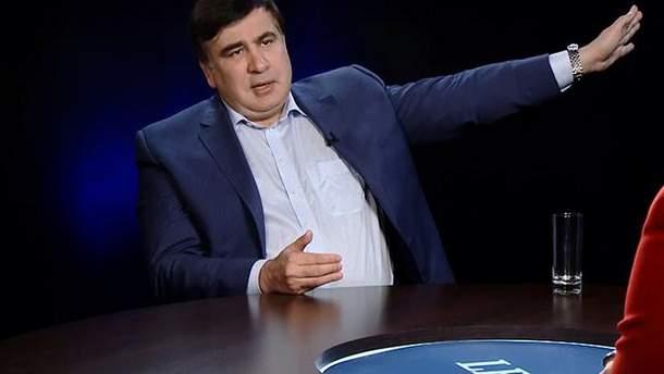 """Саакашвілі анонсував """"пошук нових людей для управління Україною"""""""