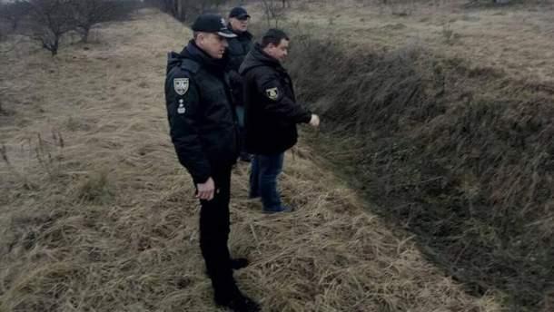 Следственные действия на месте убийства Ирины Ноздровской