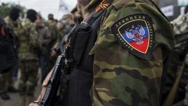 Российский офицер застрелил боевика