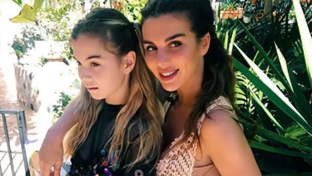 Анни Седокова з донькою Аліною
