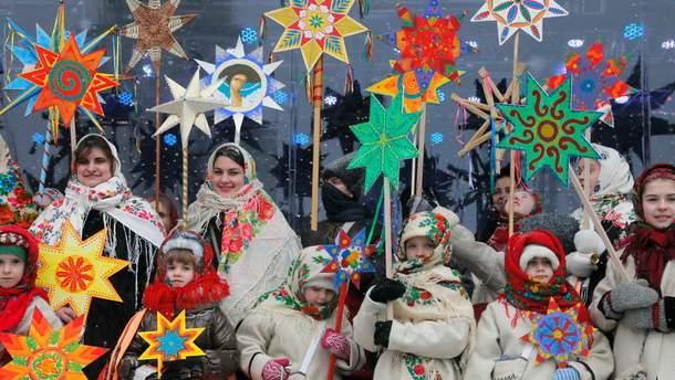 Украинские посевалки 2019 для детей и взрослых на Старый Новый год - короткие