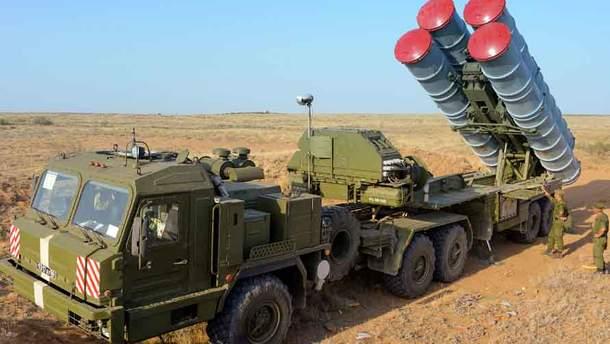 Российские зенитно-ракетные комплексы С-400