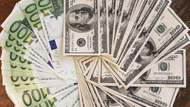 Наличный курс валют 11 января в Украине