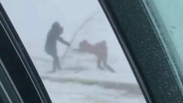 В Астані оголошено надзвичайну ситуацію через потужний сніговий буран
