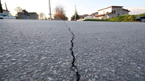 Сім землетрусів сталось за дві години на кордоні Ірану з Іраком